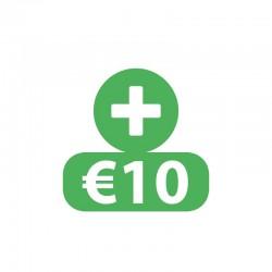 €10 Beltegoed