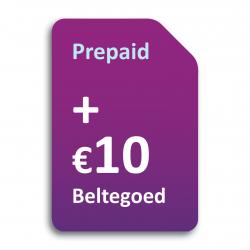 预付入门套餐10欧元