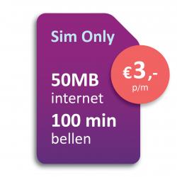 Sim Only €3